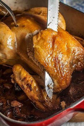 Como Cocinar Pollo Relleno Al Horno | Como Hacer Un Pollo Relleno Al Horno En 2018 Recetas Pinterest