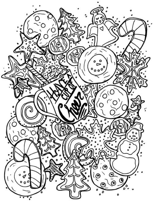 22 christmas coloring books to set the holiday mood coloring pages to print christmas time. Black Bedroom Furniture Sets. Home Design Ideas
