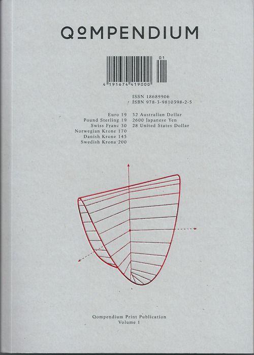 Qompendium Magazine Buch Design Grafik Design Grafik