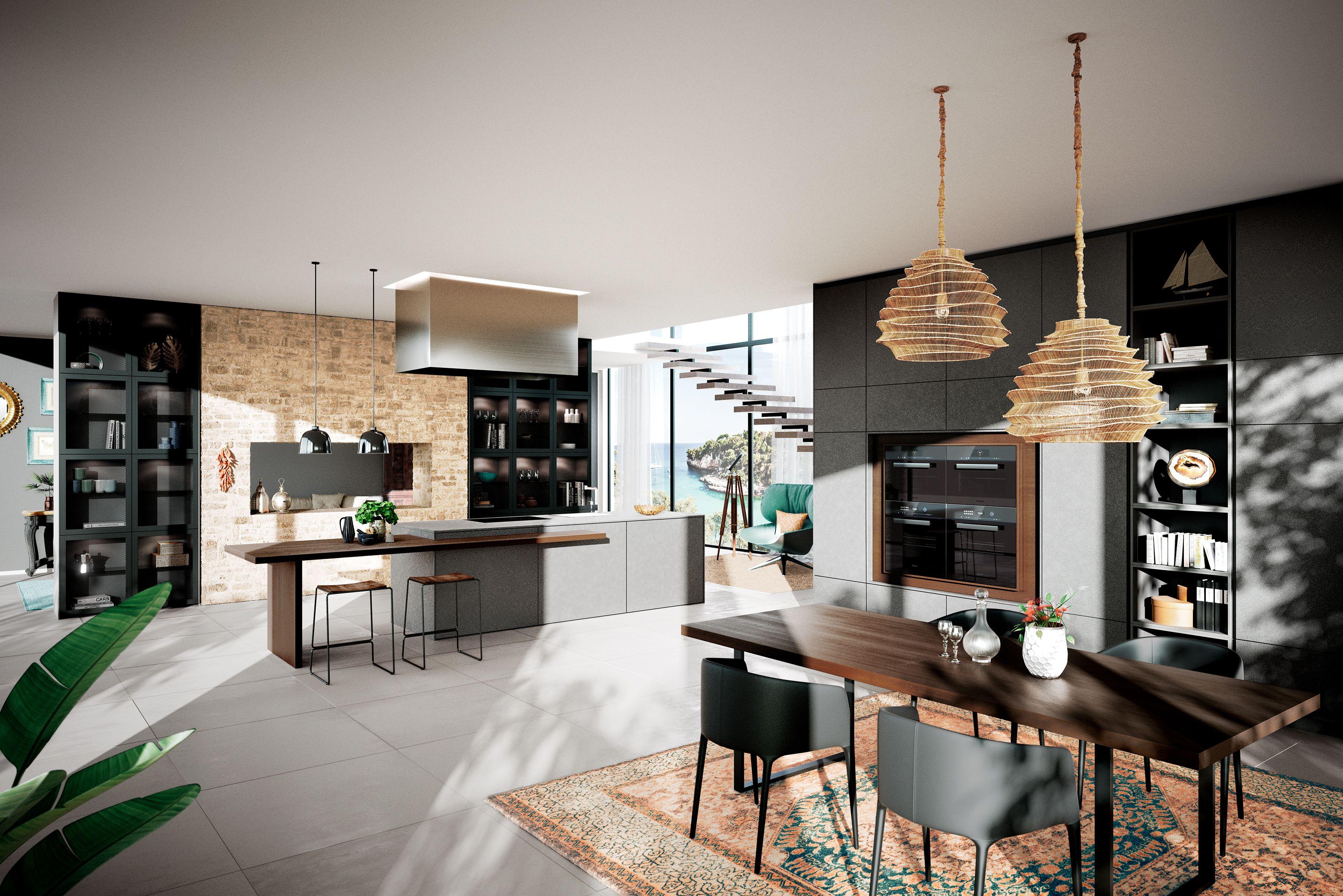 Gut Fantastisch AV 8000 GL Iron Grey #häckerküchen #häcker #küchen #mediterran  # Mediterranean