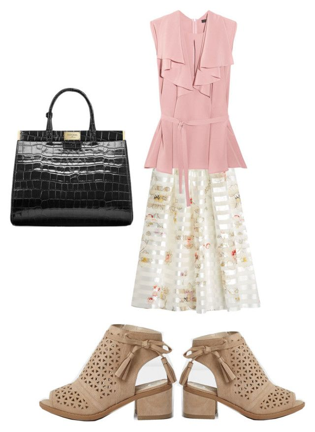 """""""Summer boots style"""" by joydschmidt1 ❤ liked on Polyvore featuring Fendi, Etro and Aspinal of London"""
