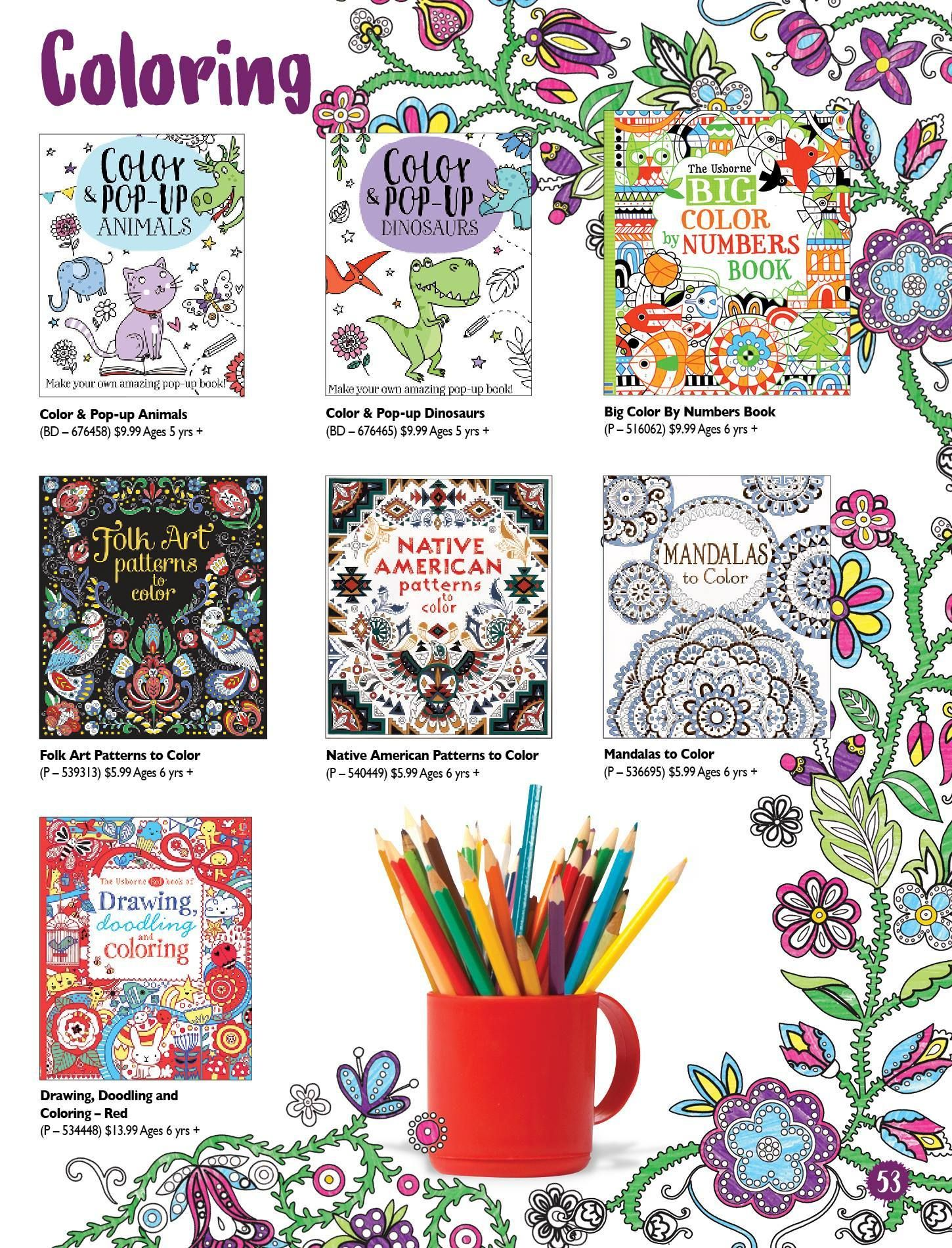 Have Some Fun Coloring Doodling Creating Pop Up Books And More Colorbooks Coloring Interactive Books For Kids Doodling Dinosaur Coloring