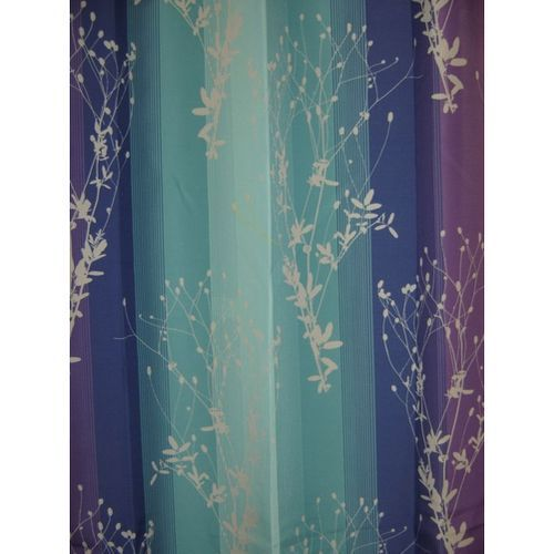 Blue And Purple Shower Curtain