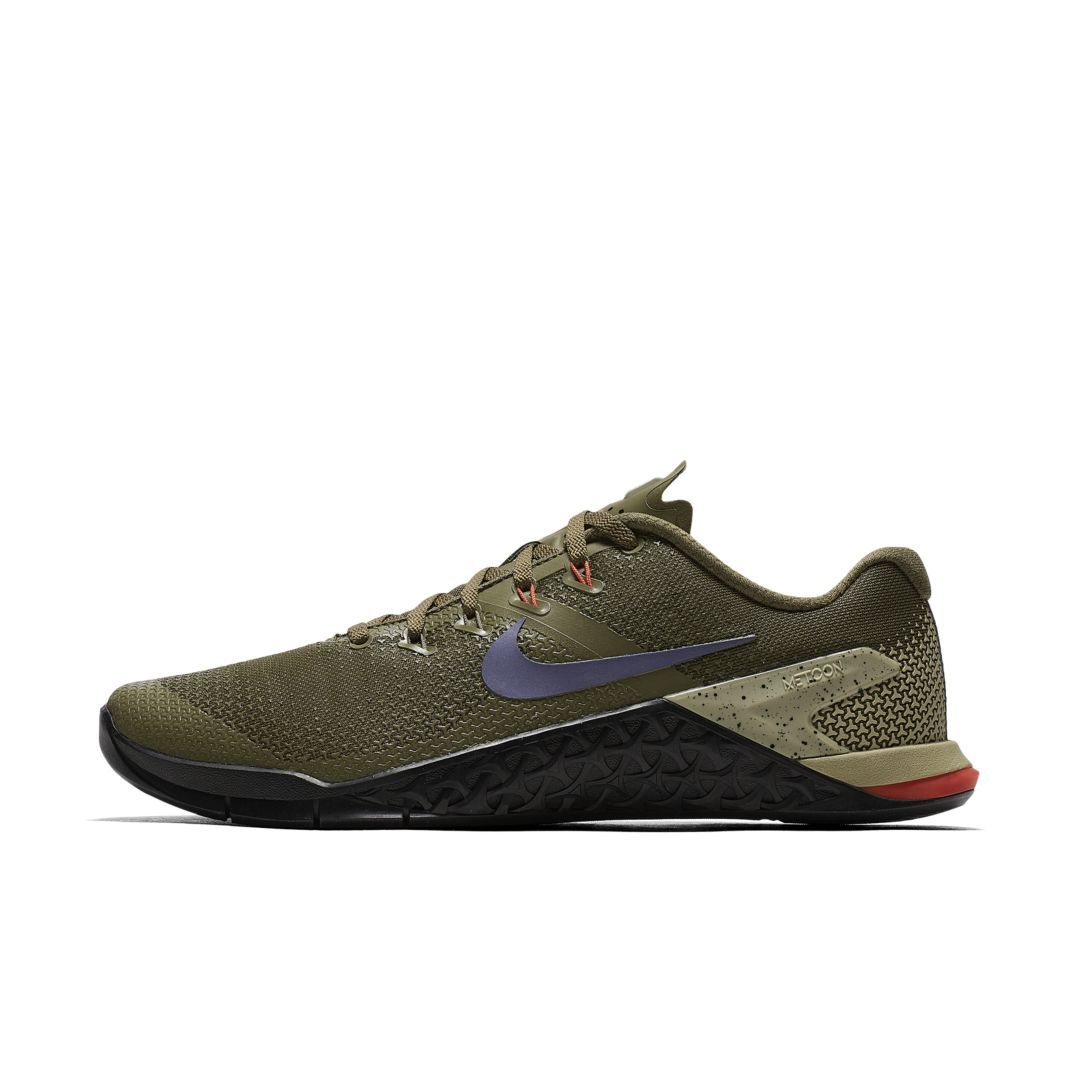 new arrival d8432 3283a Nike Metcon 4 Men s Cross Training Weightlifting Shoe Size 12.5 (Olive  Canvas)