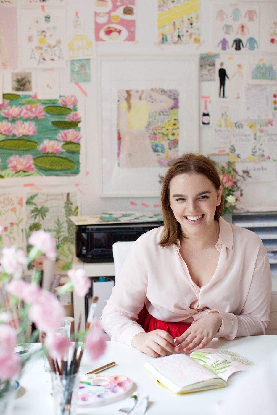 zu besuch bei illustratorin jackie diedam arbeitszimmer einrichten arbeitszimmer und inspiration
