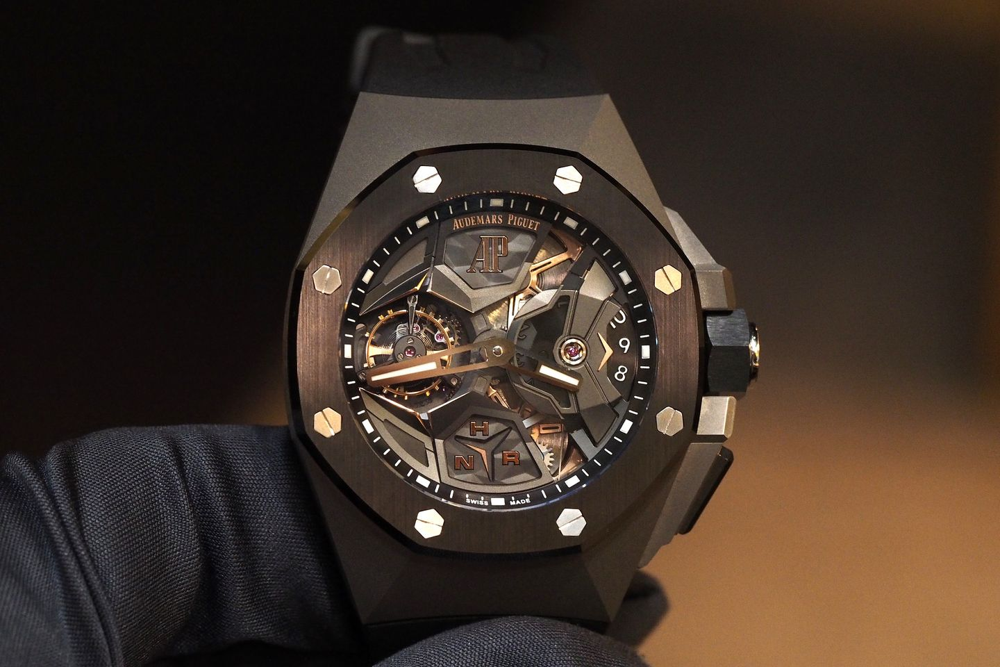 Royal Oak Concept Flying Tourbillon Gmt With Images Audemars