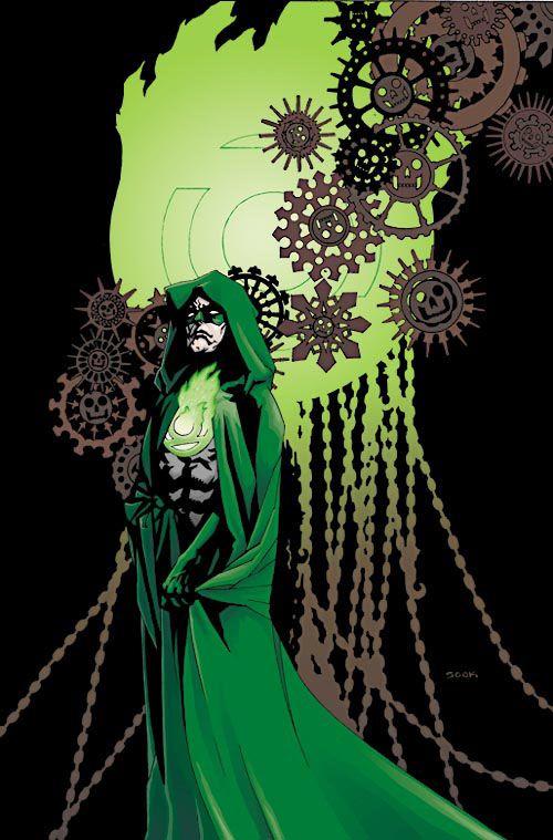 Green Lantern - Mike Mignola