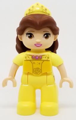 Lego Ville Lego Duplo Figure Winnie the Pooh yellow w// red