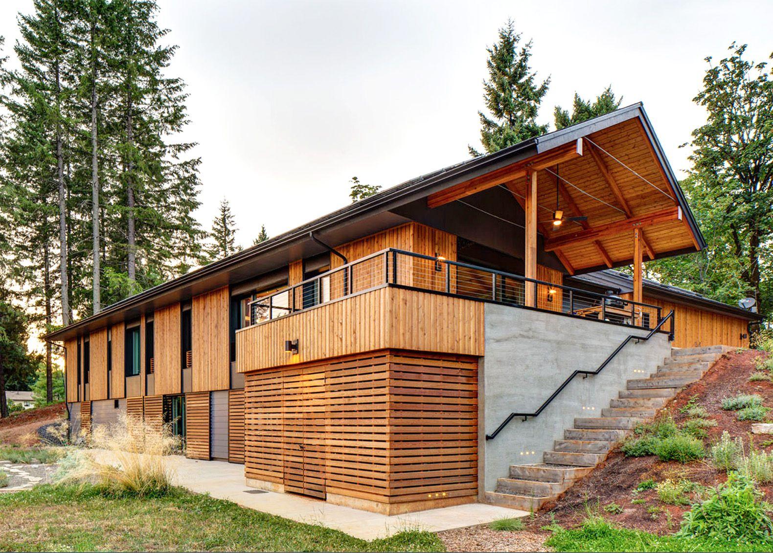 pumpkin ridge passive house consumes 90% less heating energy than