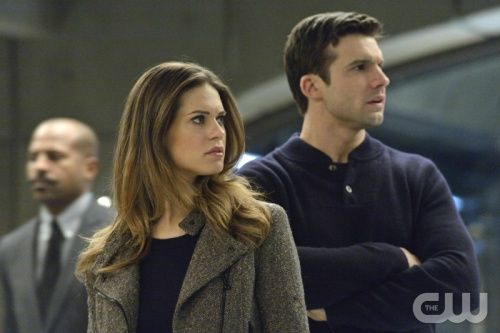 """Nikita -- """"Black Badge"""" -- Pictured (L-R): Lyndsy Fonseca as Alex and Dillon Casey as Sean -- Credit: Ben Mark Holzberg/The CW -- © 2013 The CW Network. All Rights Reserved"""