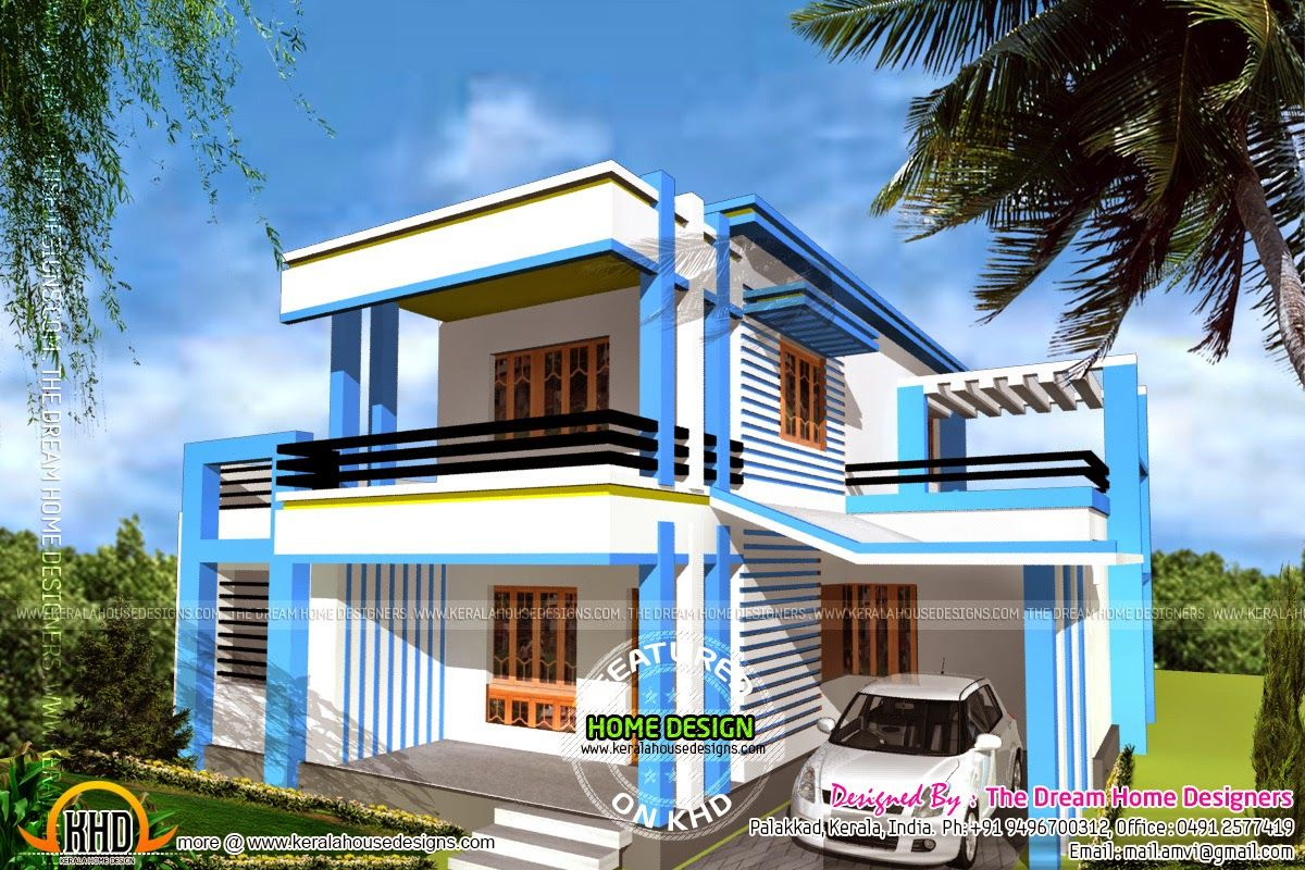 Sq Ft Me House Plan Of Including 1250 Home Design Pictures House Elevation Kerala House Design My House Plans