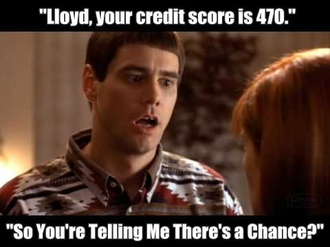Credit Scores Are A Huge Part Of The Mortgage Process If You Re Like Me You Want To Keep An Eye On Yours F Mortgage Humor Movie Quotes Funny Real Estate Humor