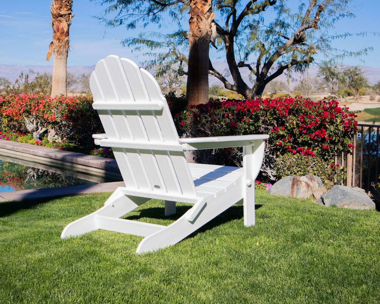 Long Beach Folding Adirondack Chair Folding Adirondack Chairs Adirondack Chair Outdoor Chairs