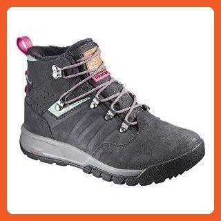 Salomon Utility TS CSWP Boots Women's Asphalt Lichen