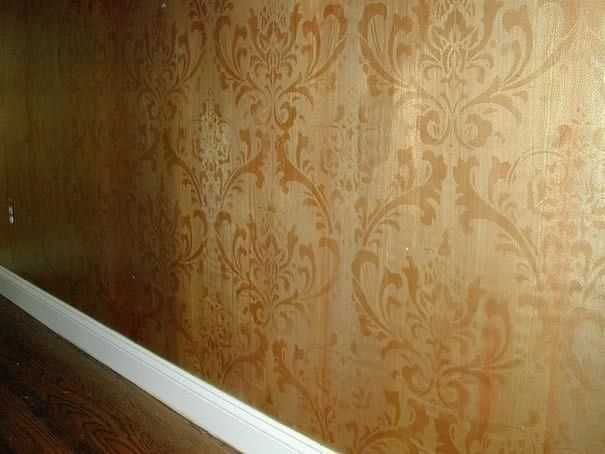 Damask Stencil Anna - Reusable Large Wall Stencils - DIY decor. $49.95, via Etsy.