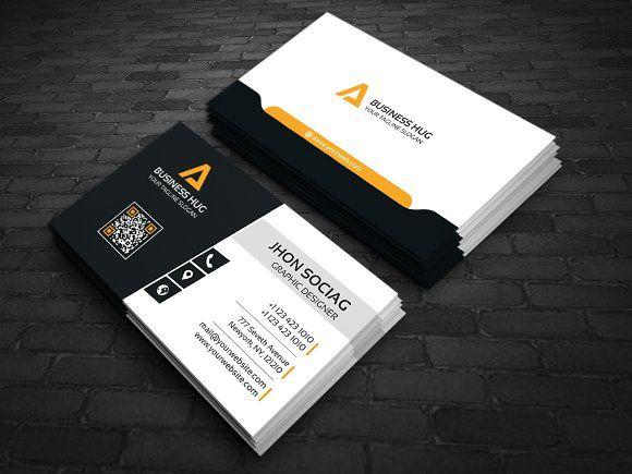 Modern Business Card By Creative Idea On Creativemarket Design - Modern business card design templates