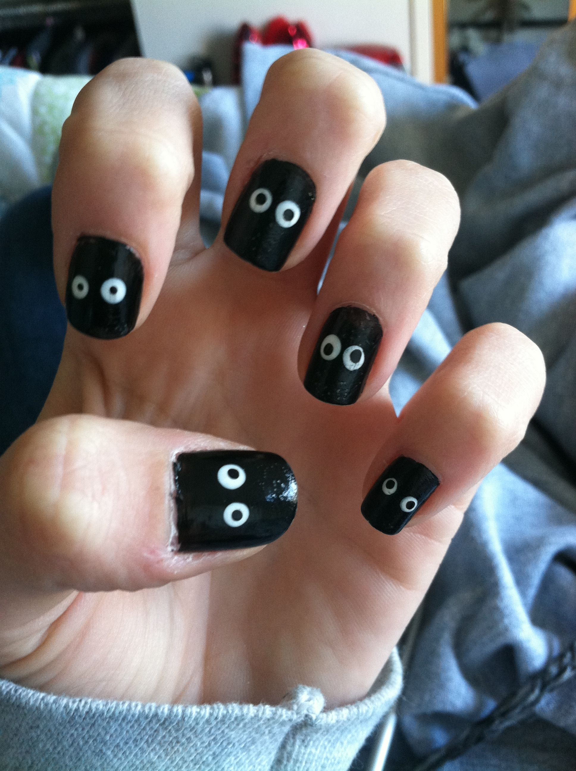 ghost nails | nails! | pinterest