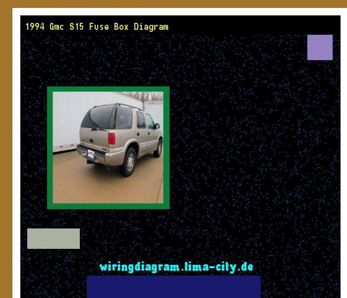 1994 gmc s15 fuse box diagram. Wiring Diagram 185824. - Amazing ...