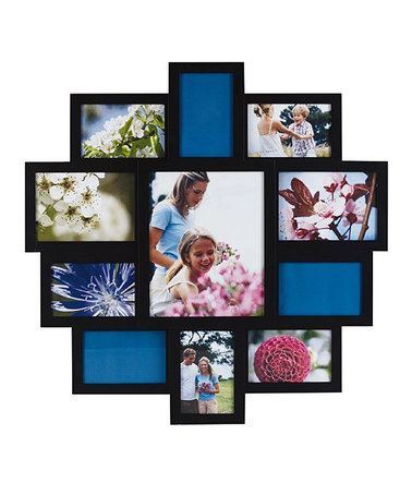 Take A Look At This Black 11 Photo Collage Picture Frame By Lifetime Brands On Zulily Today Collage Picture Frames Picture Frames Collage Frames