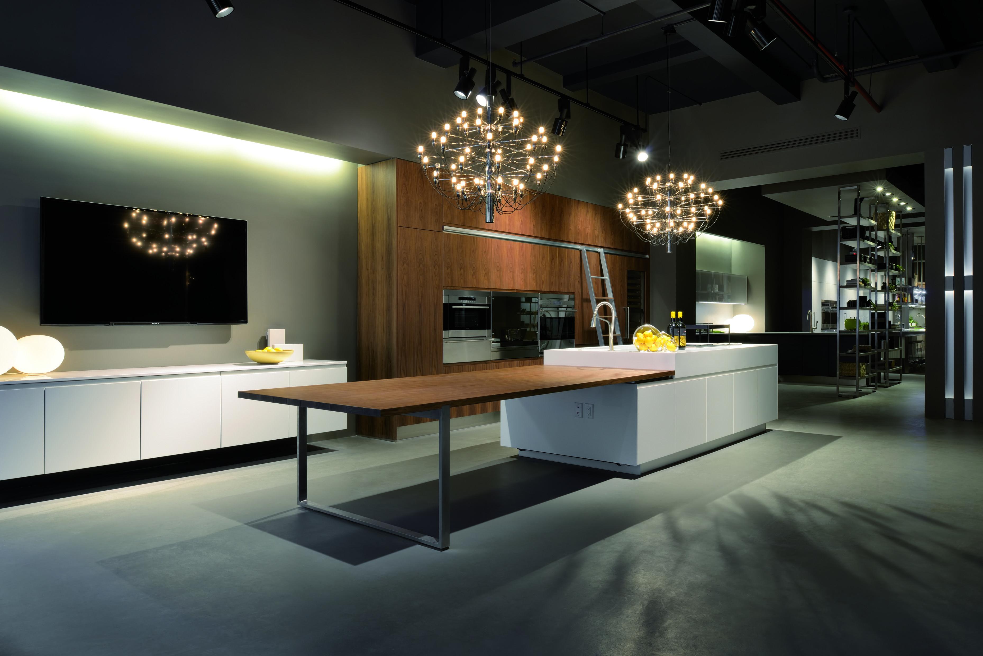 Arclinea New York's beautiful Manhattan showroom, where