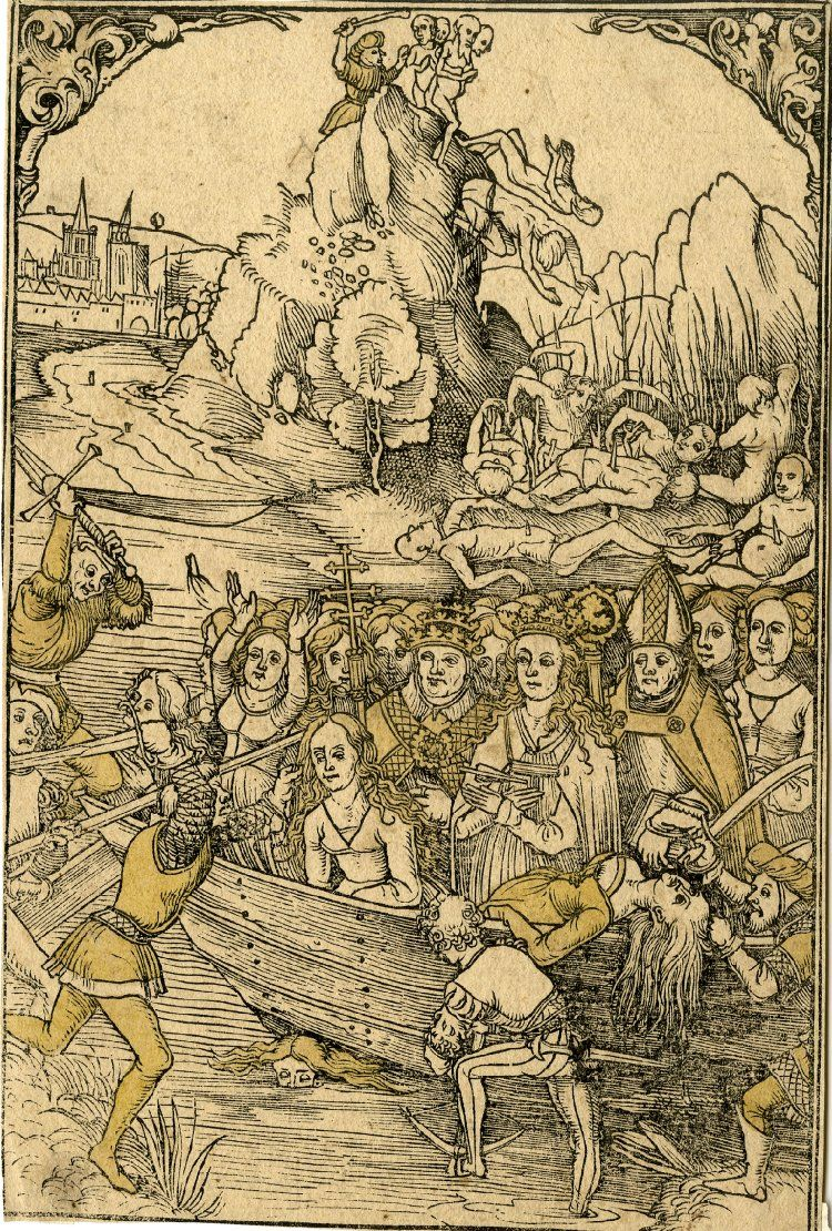 15001526 St Ursula and her companions The martyrdom of