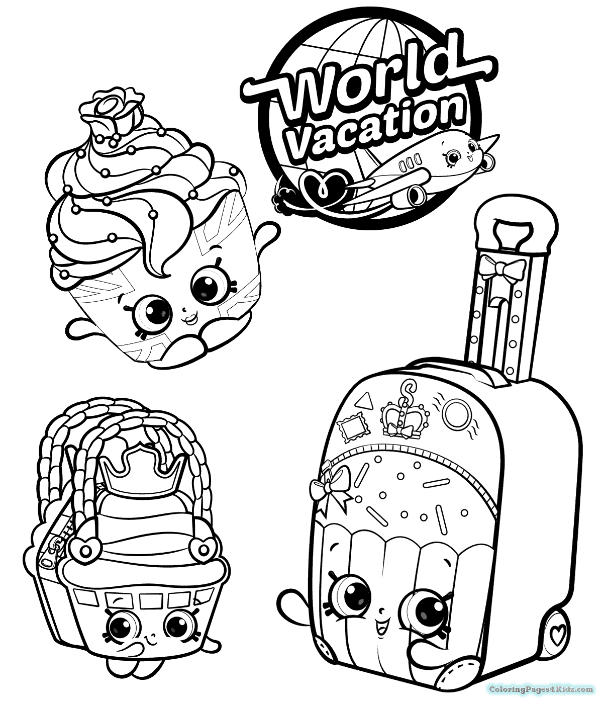 Pin by Inspired on Coloring Pages Shopkin coloring pages Shopkins colouring pages Cute