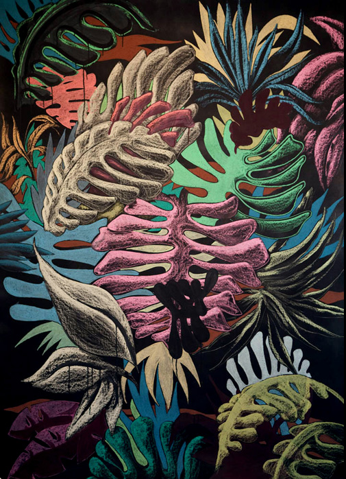 Julien Colombier: inspirational jungle patterns #junglepattern