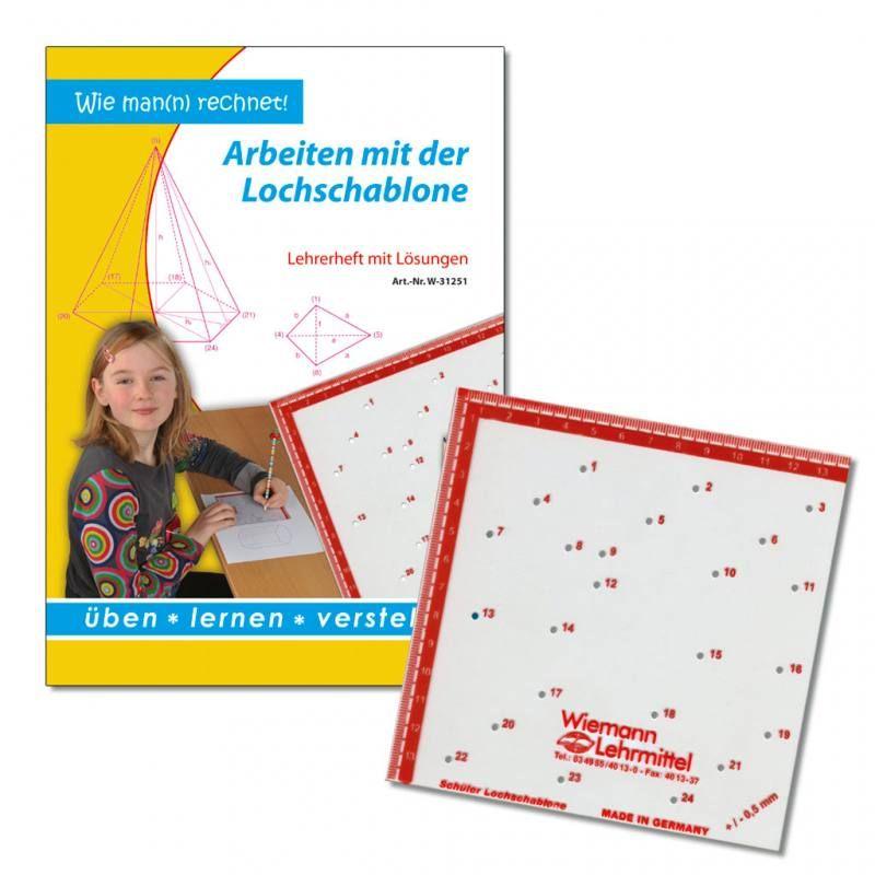 Wiemann Lehrmittel Sch/üler-Lochschablone