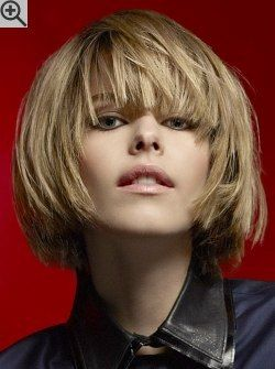 Wearable Chin Length Bob With Curved In Sides And Volume