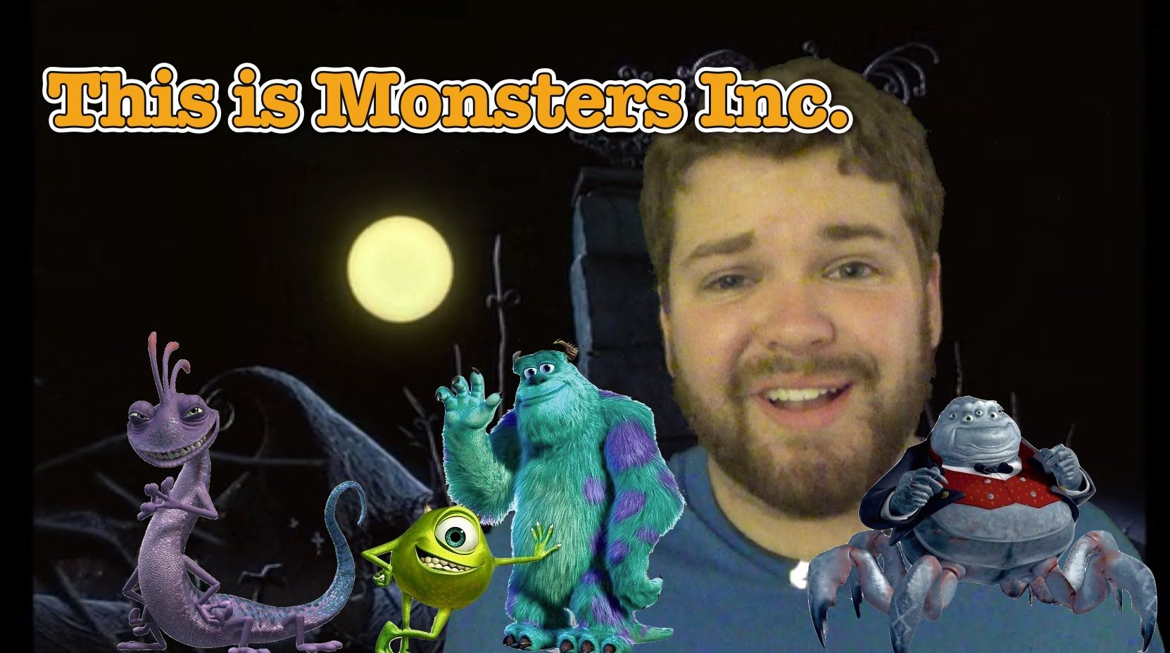 """this is monsters inc"""": a parody of """"this is halloween,"""" 