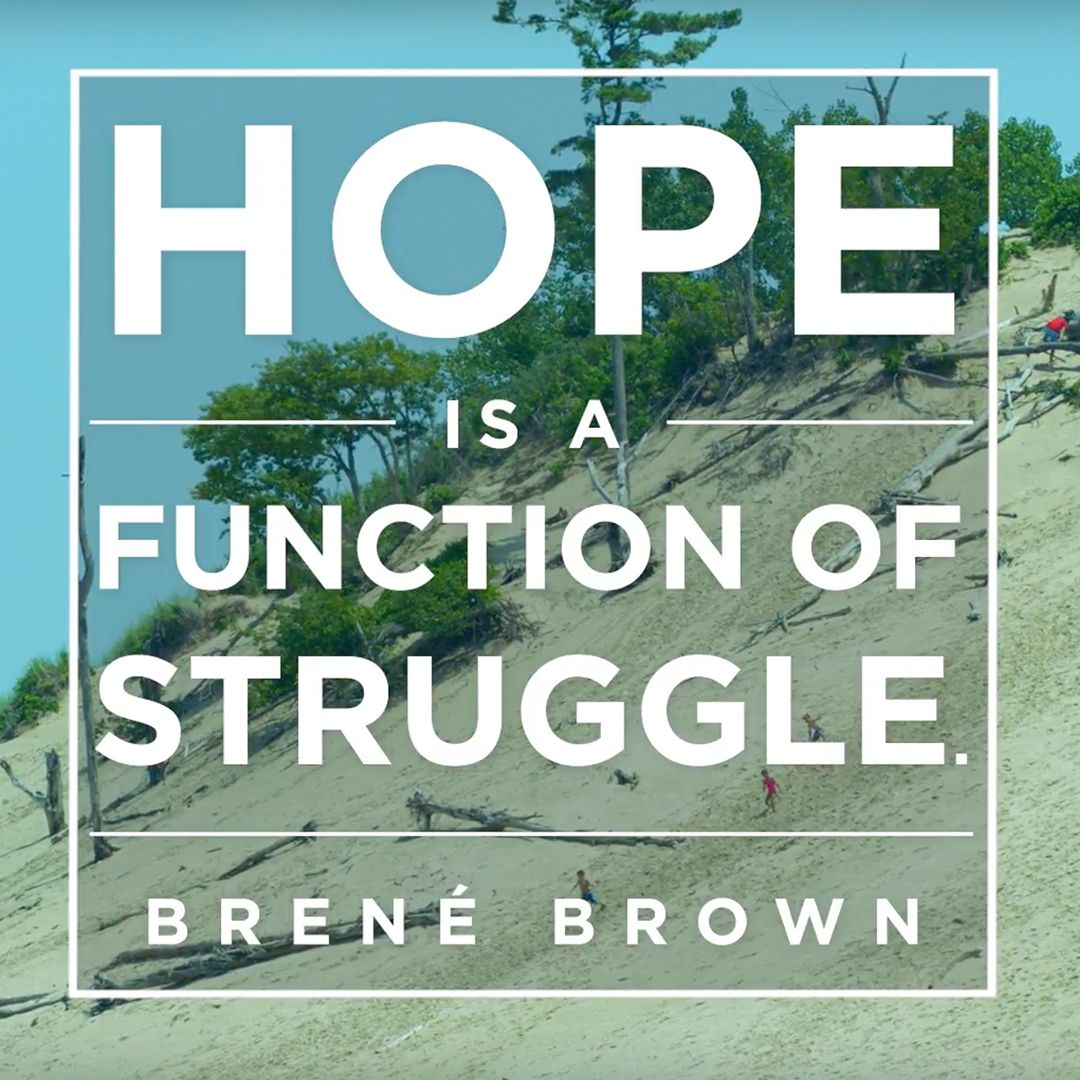 Brene Brown Quote On Hope