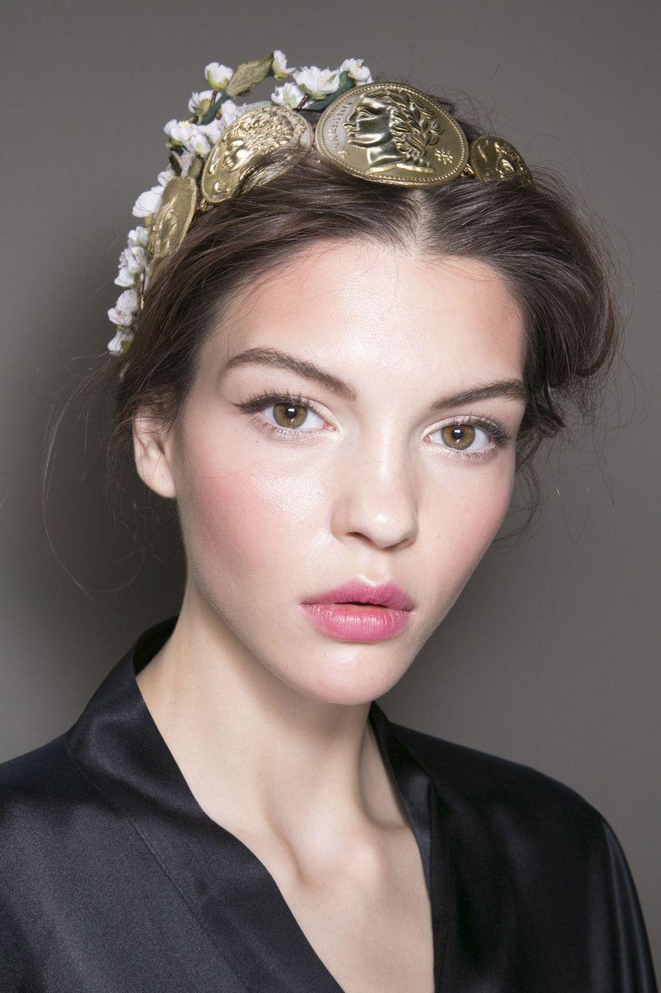 Dolce & Gabbana at Milan Fashion Week Spring 2014 Dolce