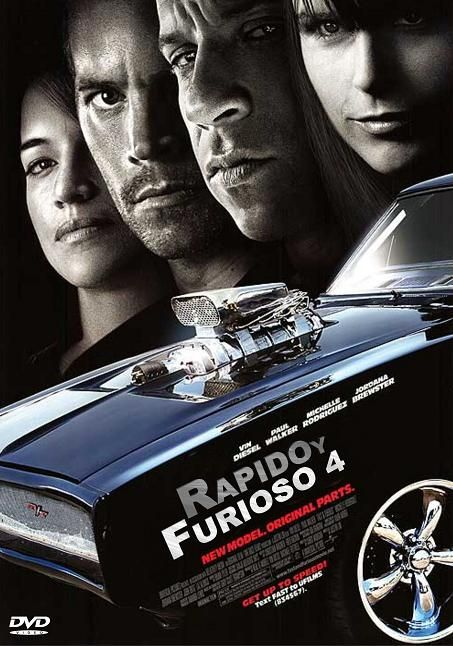 Fast And Furious Poster Furious Movie Fast And Furious Fast Furious 4