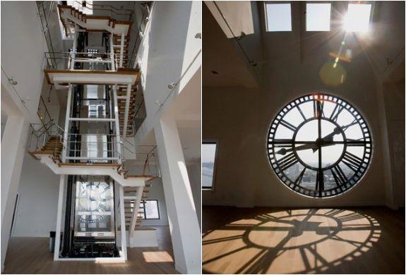 Clocktower Apartment Brooklyn A Striking Triplex In Clock Tower Overlooking The Bridge And New York Harbor