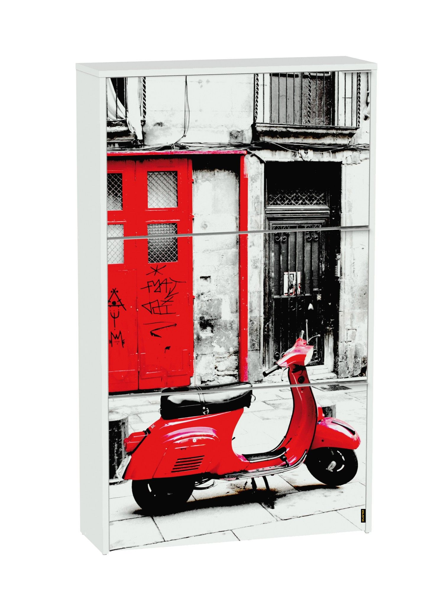 Muebles Zapateros En Conforama Zapatero 3t Red Vespa En Conforama For Home Pinterest Locker
