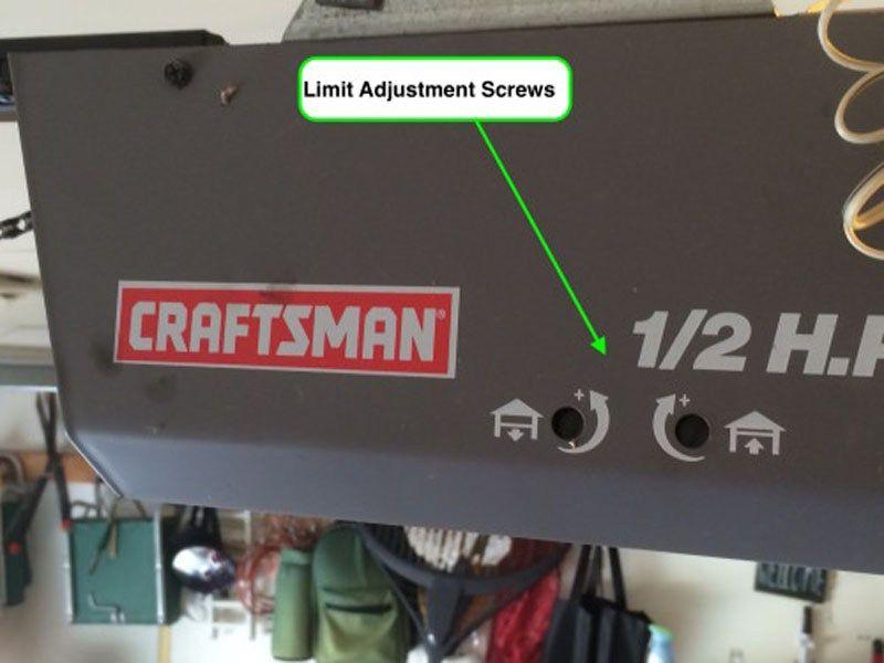 How To Adjust Garage Door Opener Sn Desigz Garage Doors Garage Door Opener Doors
