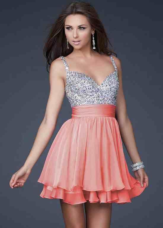 فساتين سهرة قصيرة منفوشة Embellished Party Dress Homecoming Dresses Beautiful Dresses