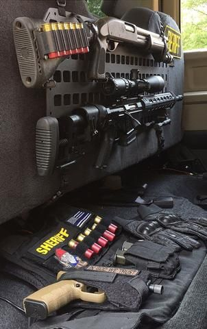 Grey Man Tactical Rigid MOLLE Panel Vehicle Under Seat ...