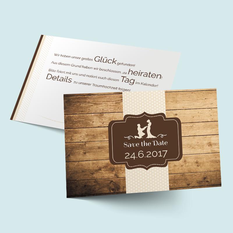 Save The Date Karten Gluck Gefunden Cards