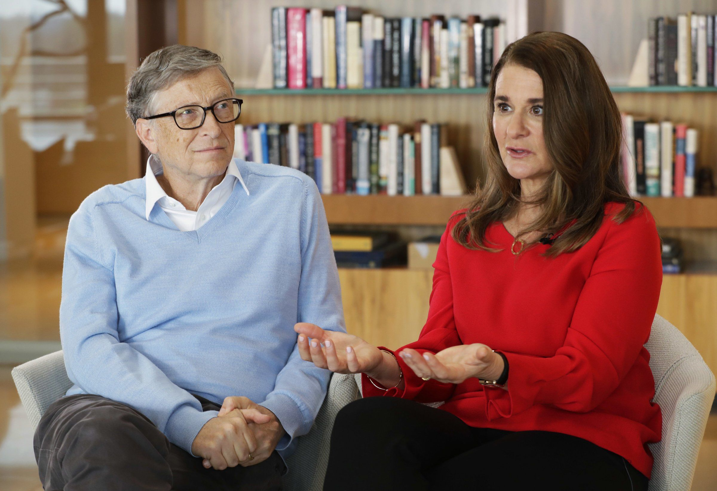 Bill and Melinda Gates were just named the most generous ...