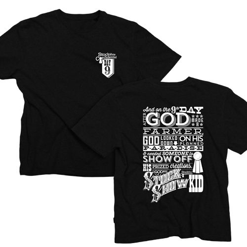 On the 9th day T-Shirt Order Form » Stockshow Confidential down - t shirt order form