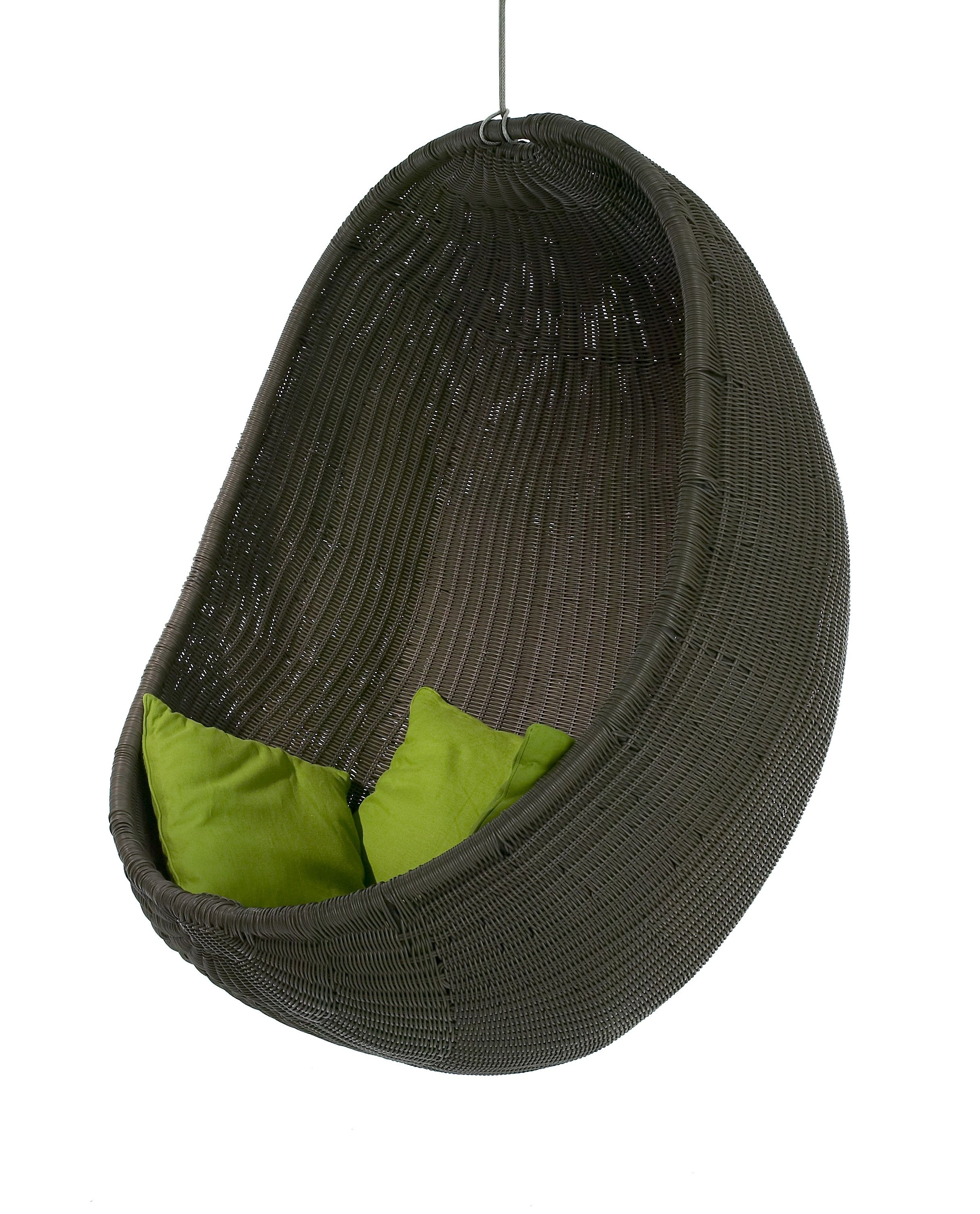 Outback Chair Company Introduces The Cove The First Hanging Chair In Its New Urban Balance Collection Of Rat Hanging Chair Hanging Furniture Hanging Egg Chair