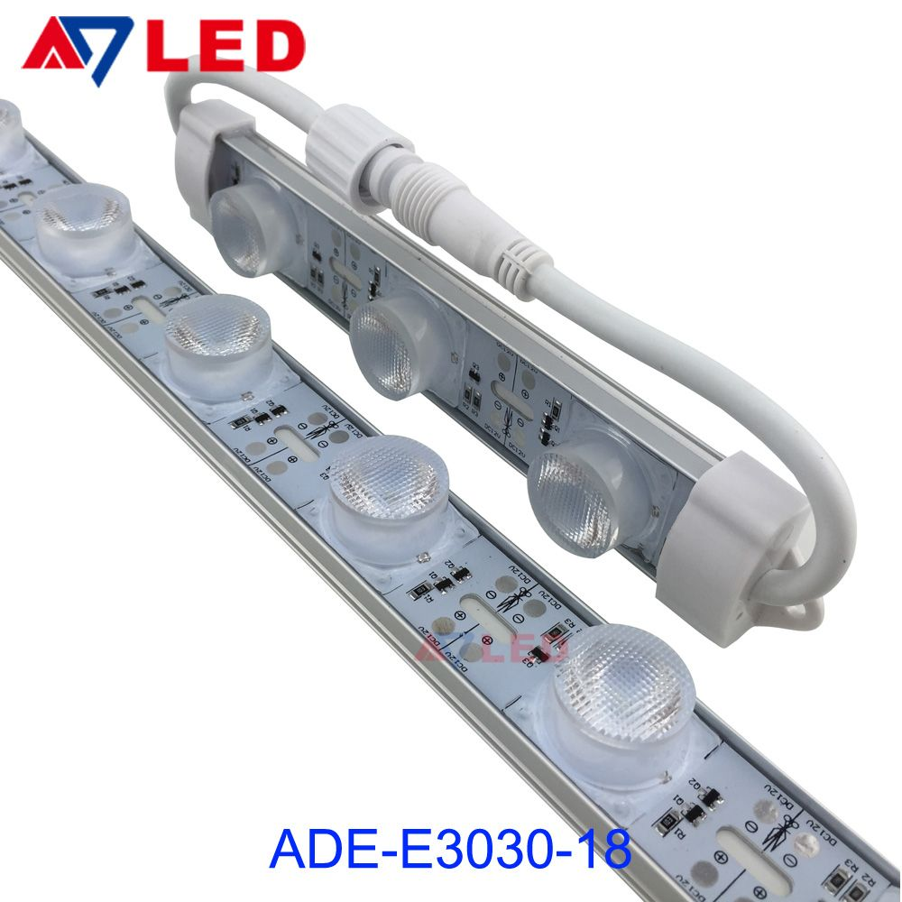 Doublesideledrigidbar Sidelight Smd3030 12v 24v Ip65 Waterproof Outdoor Aluminium Led Strip Light Double Side Led Strip Lighting Led Light Box Led Light Bars