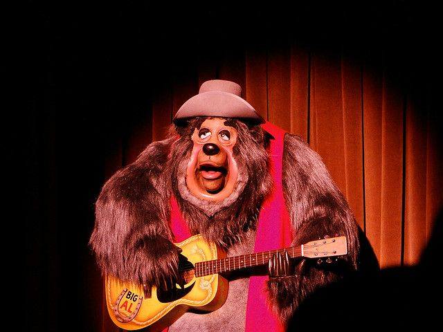 Big Al at Country Bear Jamboree, Disney's Magic Kingdom, Orlando FL. by Harvey-Harv, via Flickr