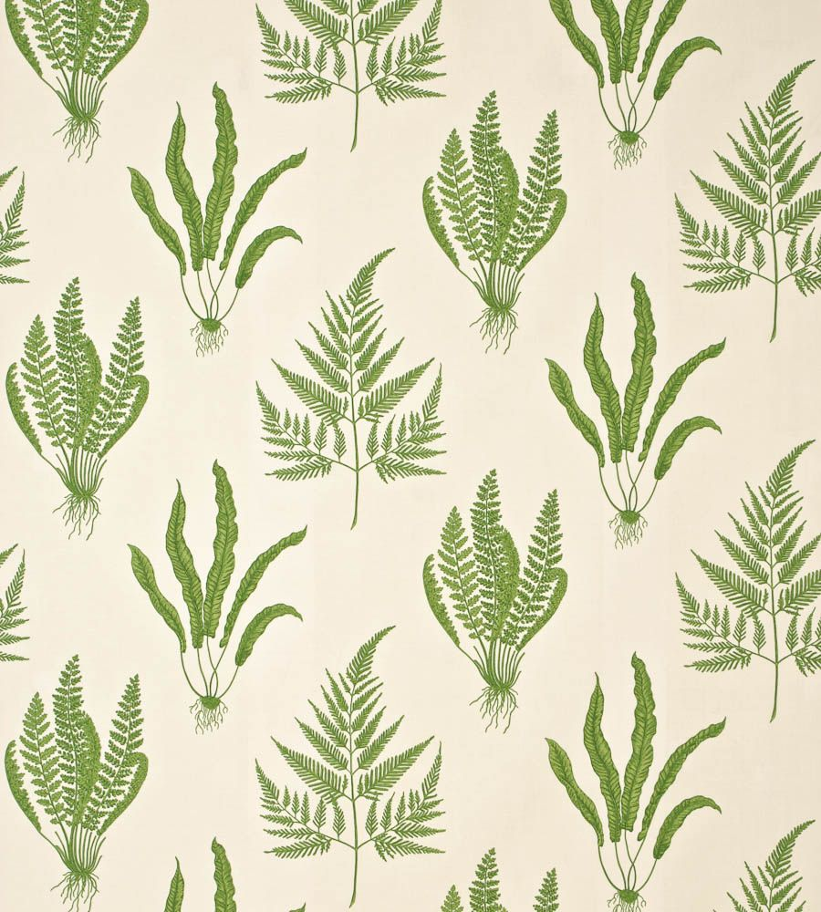 Interiors · Woodland Ferns Fabric ...