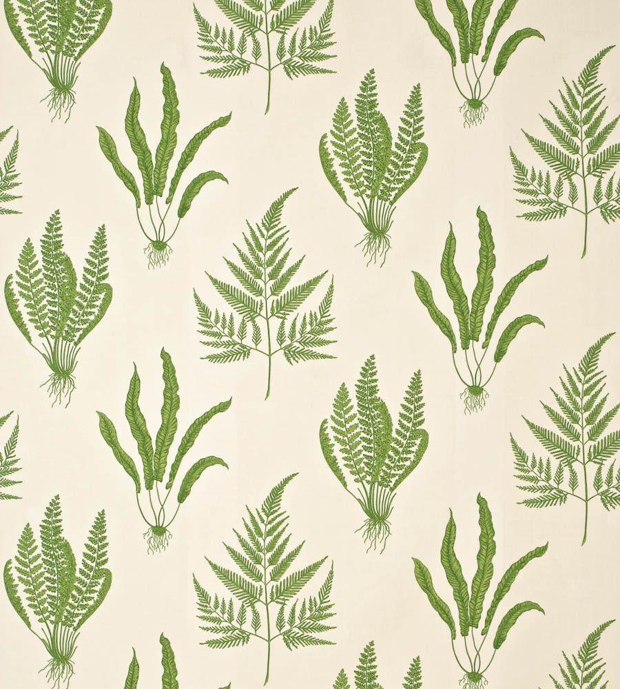 Interiors · Woodland Ferns Fabric ...