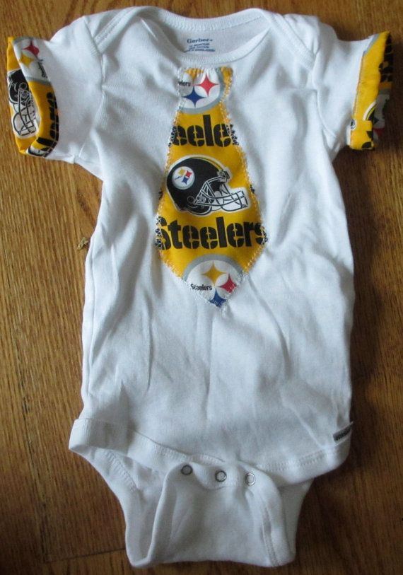 New  White Onesie  12 months Home made NFL by sharonplante on Etsy, $12.50