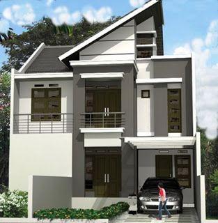 Membuat Gambar Pada Dinding Rumah Rumah Lantai 2 Model Terbaru Rumah Minimalis Rumah Desain Atap