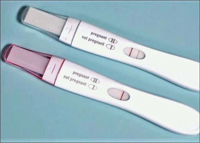 Schwangerschaftstest positiver Positiver Schwangerschaftstest: