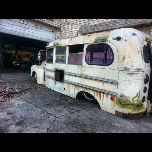 Bus under construction at Morbid Rodz